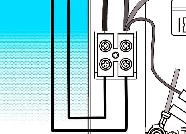 Prent getiteld Fiks `n elektriese stort Stap 6