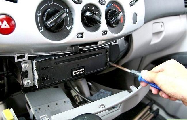 Beeld getiteld Installeer `n motorradio-eenheid. Stap 4