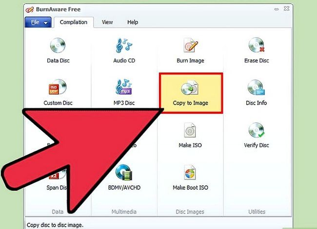 Prent getiteld Skep `n opstartbare Windows 7 of Vista USB Drive Stap 2