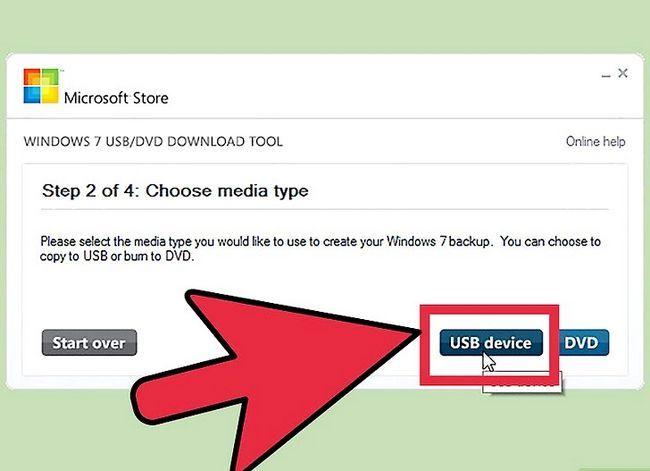 Prent getiteld Installeer Microsoft Windows met `n USB 2.0 Flash Drive Stap 8