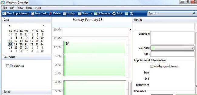 Prent getiteld Windows Mail en Windows Kalender installeer op Windows 7 Stap 7