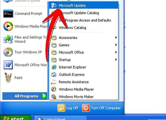 Prent getiteld Windows XP installeer op `n Windows Vista-rekenaar Stap 9