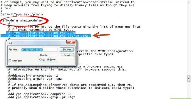 Prent getiteld Php 5.2.5 en Apache 2.2.8 installeer en instel in Windows Vista Stap 5Bullet3