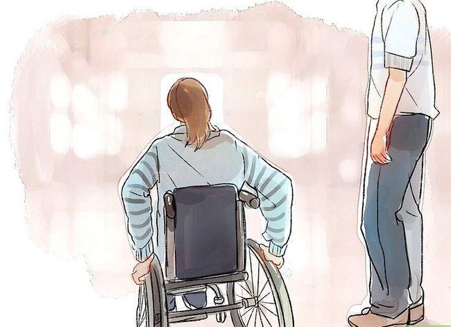 Prent getiteld Interaksie met mense wat gestremdhede het Stap 14