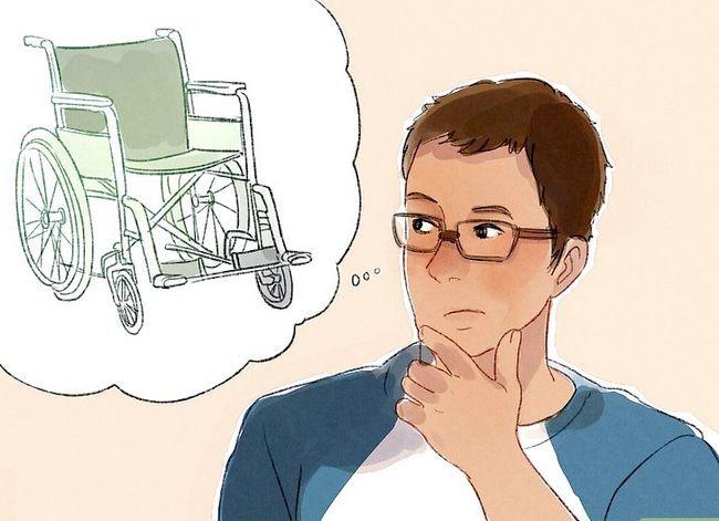 Prent getiteld Interaksie met mense met gestremdhede Stap 9