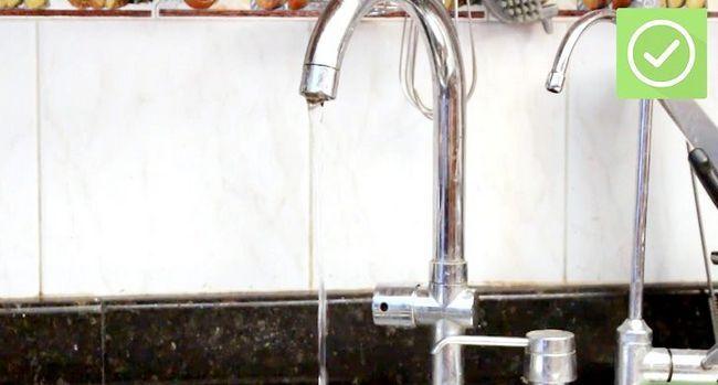 Prent getiteld Skakel jou watertoevoer af Snel en maklik Stap 6