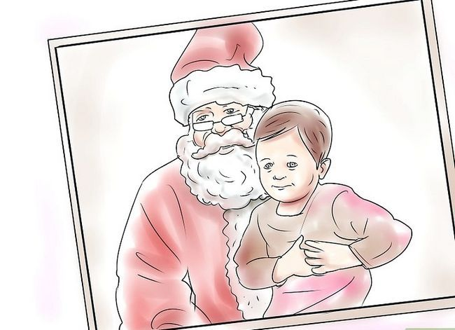 Prent getiteld Skep `n blywende tradisie vir Baby`s First Christmas Step 12