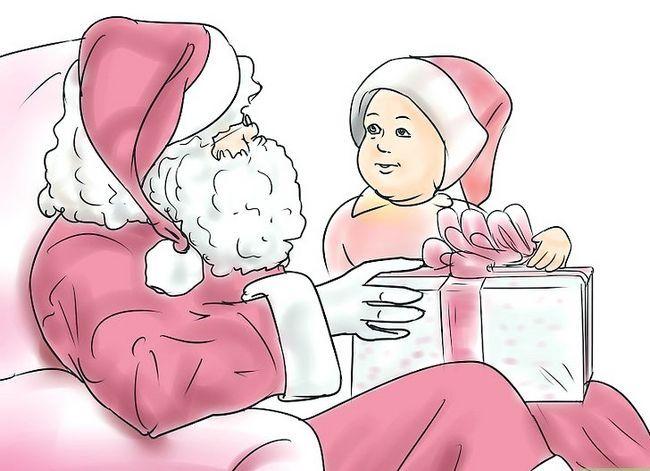 Prent getiteld Skep `n blywende tradisie vir Baby`s First Christmas Step 10