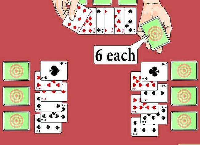 Prent getiteld Speel die Palace Card Game Stap 2