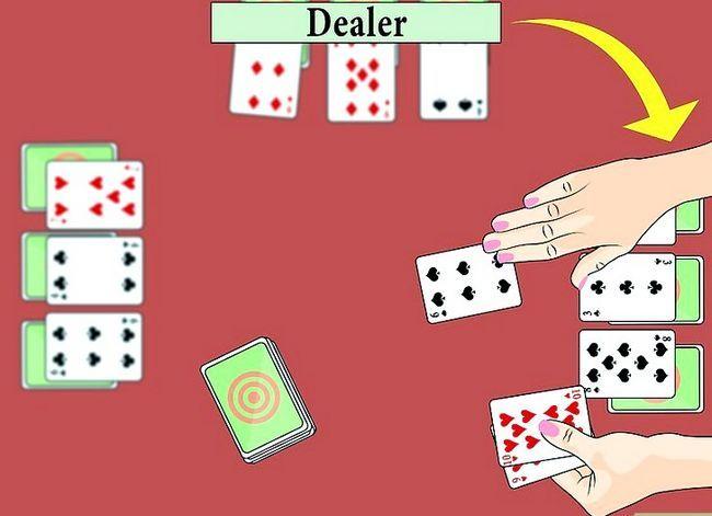 Beeld getiteld Speel die Palace Card Game Stap 4