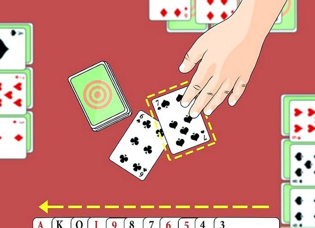 Prent getiteld Speel die Palace Card Game Stap 6