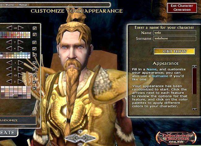 Prent getiteld Speel `n Druid in Dungeons and Dragons V3.5 Stap 3
