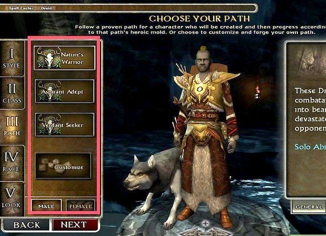 Beeld getiteld Speel `n Druid in Dungeons and Dragons V3.5 Stap 8