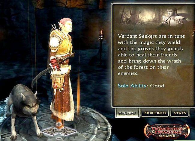 Prent getiteld Speel `n Druid in Dungeons and Dragons V3.5 Stap 9