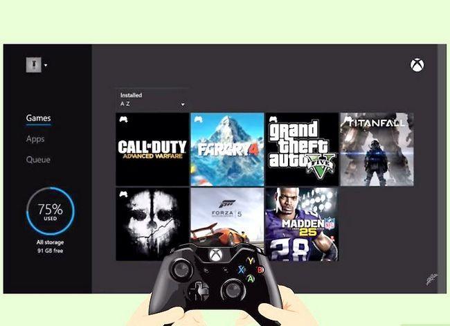 Beeld met die titel Play Games op Xbox 360 sonder `n CD Stap 12