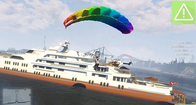 Prent getiteld Speel Grand Theft Auto 5 Online Stap 17