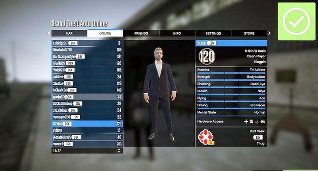 Prent getiteld Speel Grand Theft Auto 5 Online Stap 19