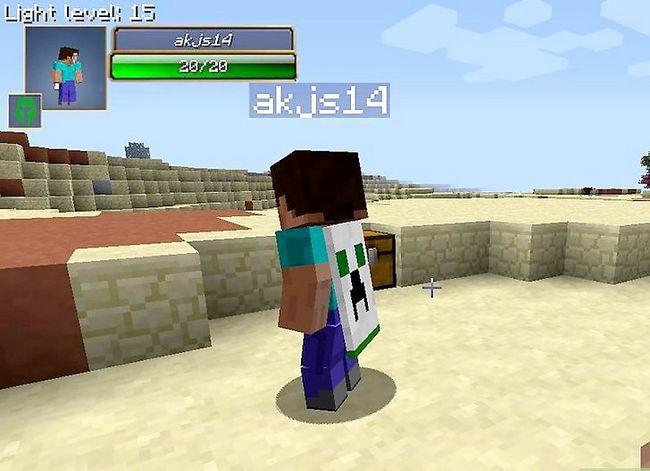 Beeld getiteld Play Minecraft in Real Life Step 1