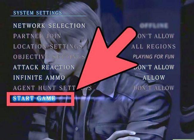 Beeld getiteld Play Co Op in Resident Evil 6 Step 11