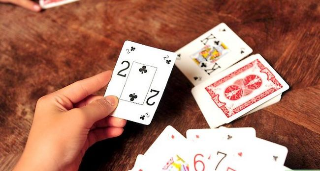 Prent Titel Play Jacks Twos and Eights Stap 4