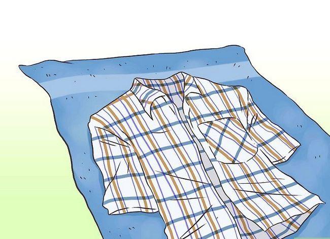 Prent getiteld Was `n droogskoonmaak-kleed. Stap 6