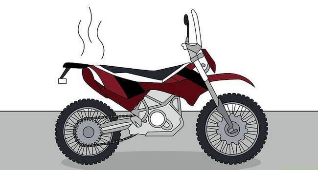 Prent getiteld `n Motorfiets Stap 1