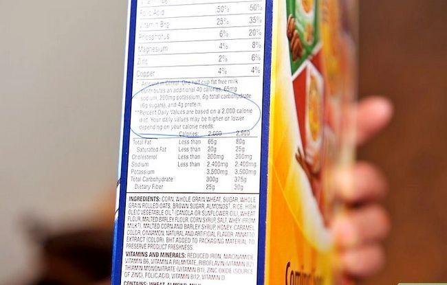 Beeld getiteld Lees Voedings Feite op Voedsel Etikette Stap 11