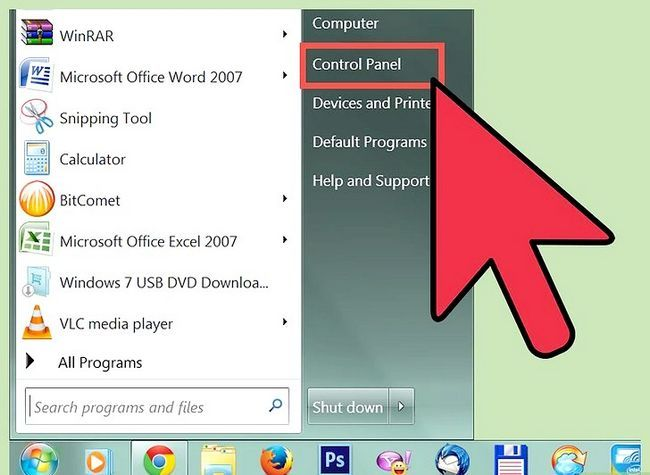Prent getiteld Free Disk Space (Windows 7) Stap 1