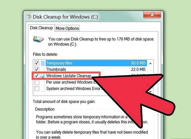 Prent titel Free Disk Space (Windows 7) Stap 11
