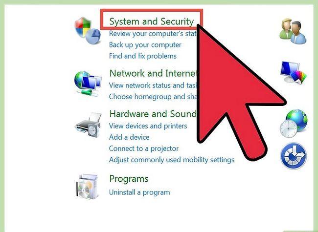 Prent titel Free Disk Space (Windows 7) Stap 2