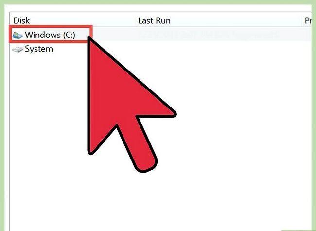 Prent titel Free Disk Space (Windows 7) Stap 4