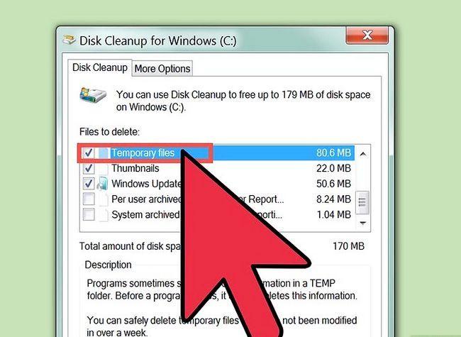 Prent getiteld Free Disk Space (Windows 7) Stap 9