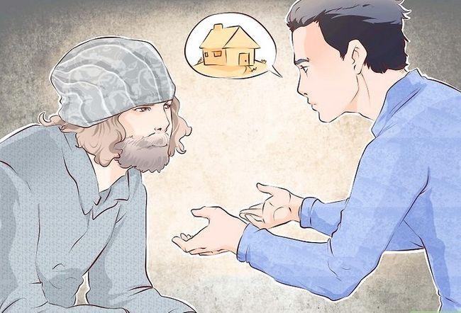 Beeld getiteld Deal With Beggars Vra jou vir geld Stap 4