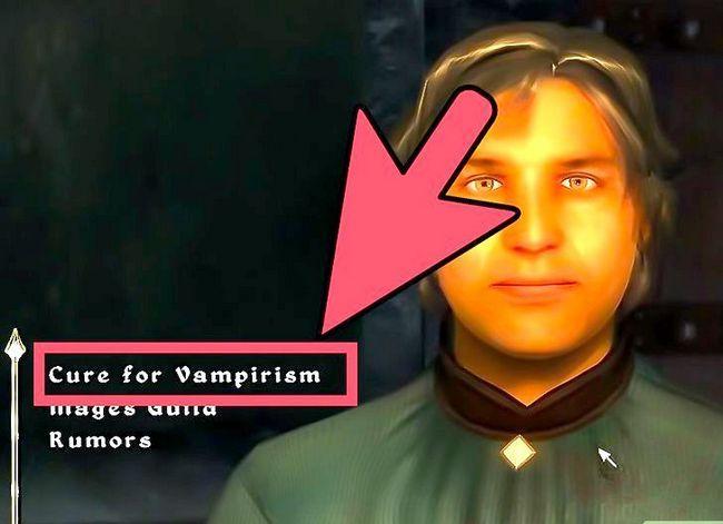Prent getiteld Hanteer `n Vampier in Oblivion Stap 7