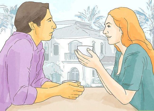 Prent getiteld Deal met `n vennoot wat jou verhoudingsgeheim hou. Stap 10