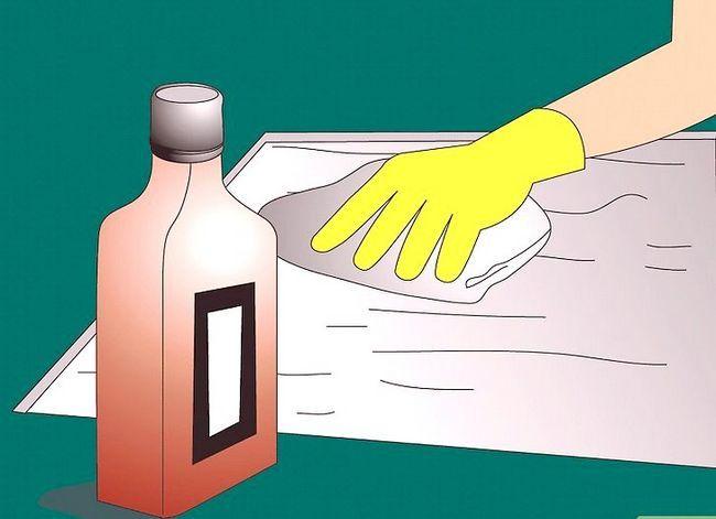 Prent getiteld Verwyder Latex Rubber Tapyt en Tile Plak van `n Sementvloer Stap 7