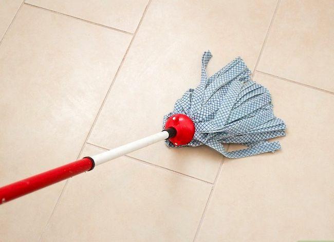 Prent getiteld Clean Porselein Tiles Stap 4