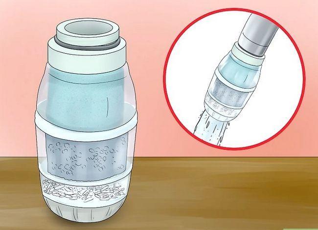 Prent getiteld Clean Tap Water Step 2