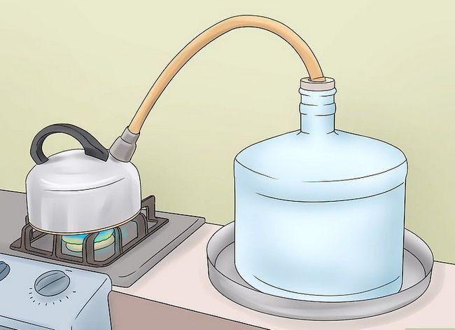 Prent getiteld Clean Tap Water Stap 4