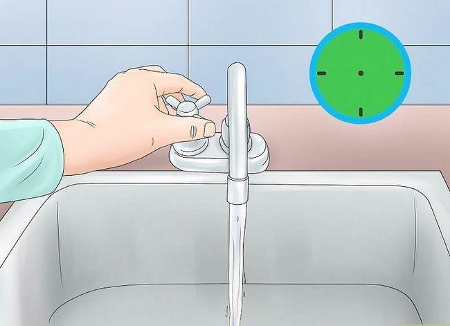 Prent getiteld Clean Tap Water Stap 10