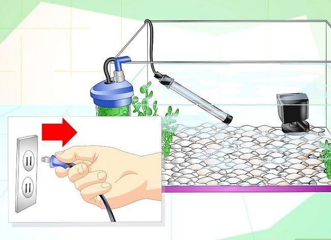 Prent getiteld Fix Cloudy Aquarium Water Stap 1