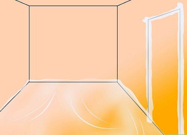 Prent getiteld Clean Drywall Stof Stap 1