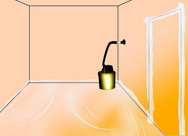 Prent getiteld Clean Drywall Stof Stap 5