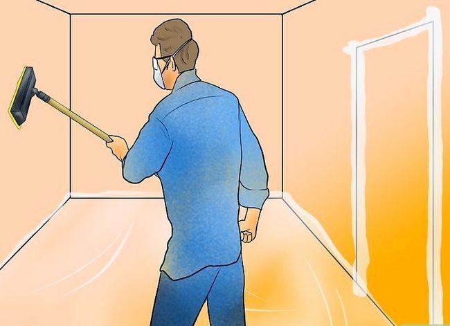 Prent getiteld Clean Drywall Stof Stap 7
