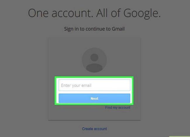Prent getiteld Maak jou Gmail-posbus skoon. Stap 1