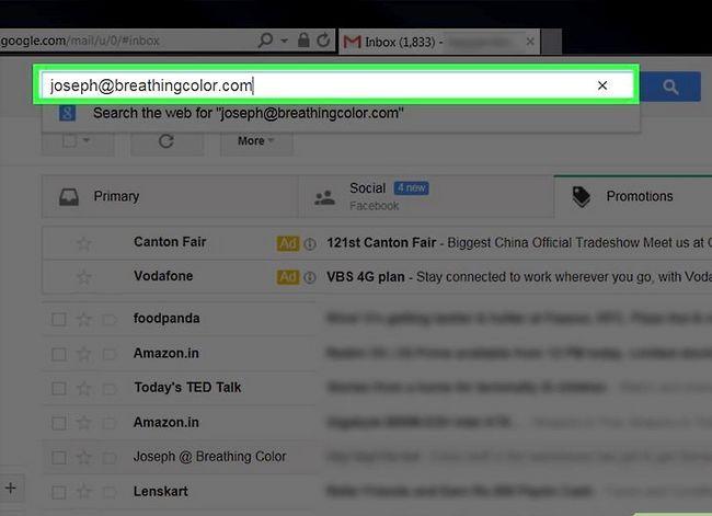 Beeld getiteld Maak jou Gmail-inkassie skoon. Stap 16