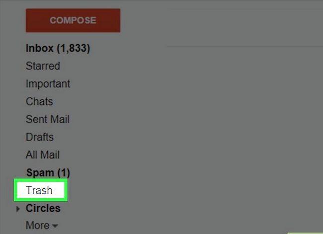 Prent getiteld Maak jou Gmail-posbus skoon. Stap 20