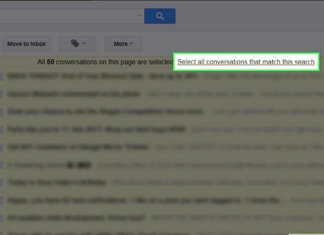 Prent getiteld Maak jou Gmail-posbus skoon. Stap 27