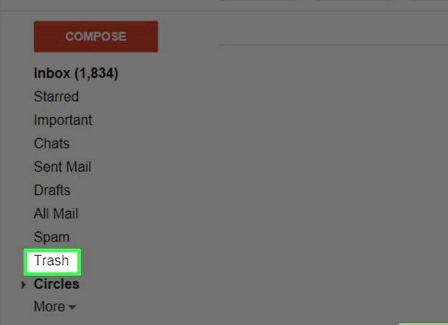 Prent getiteld Maak jou Gmail-posbus skoon. Stap 29