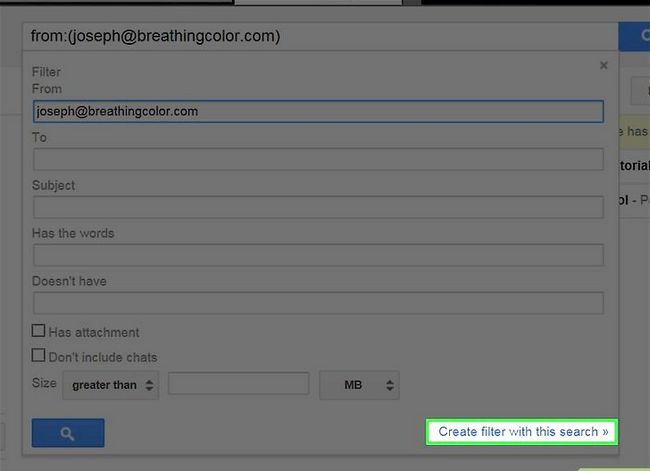 Prent getiteld Maak jou Gmail-posbus skoon Stap 5